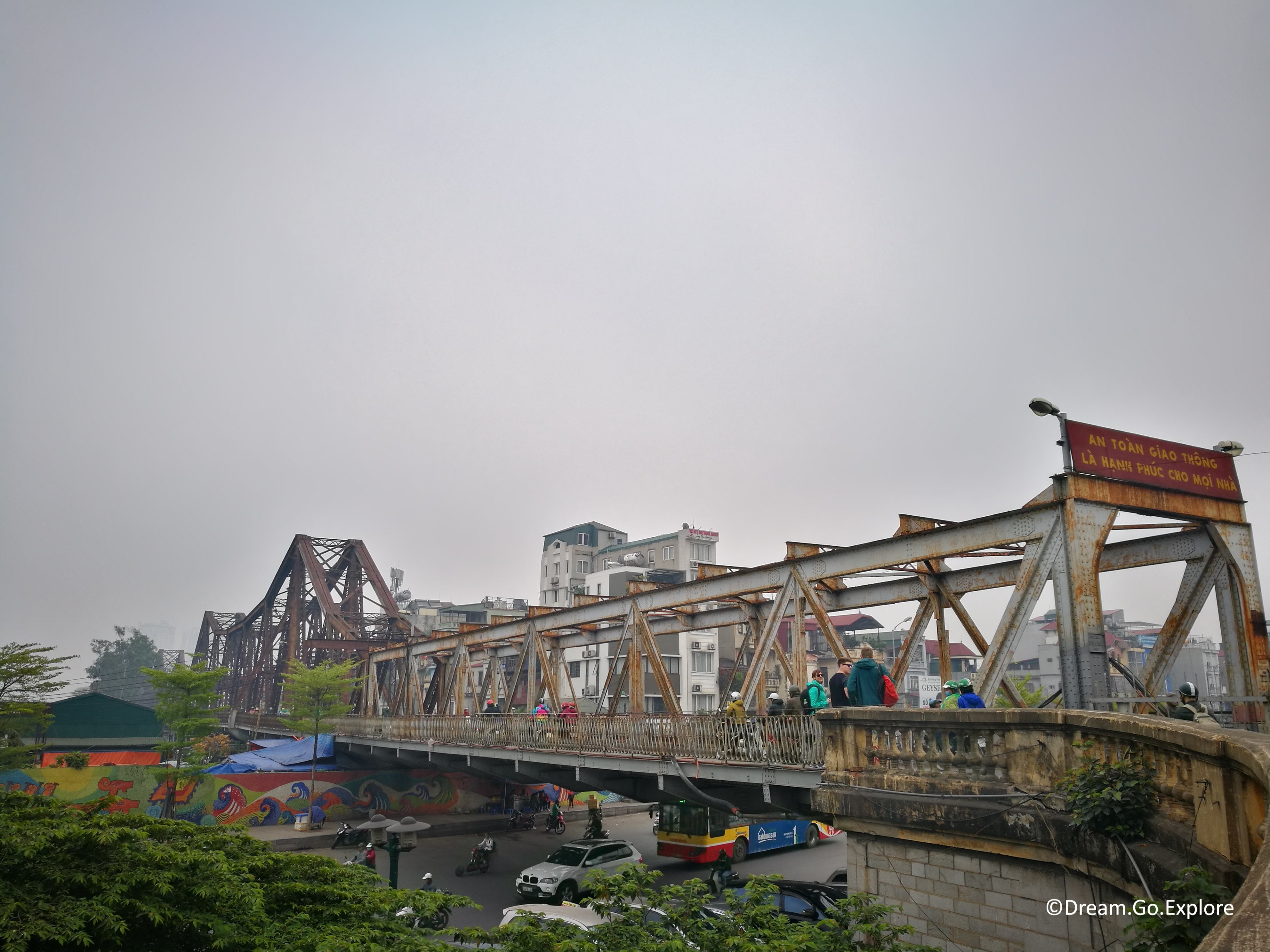 Long Bien Bridge (Vietnam) – Long Bien Brücke (Vietnam)