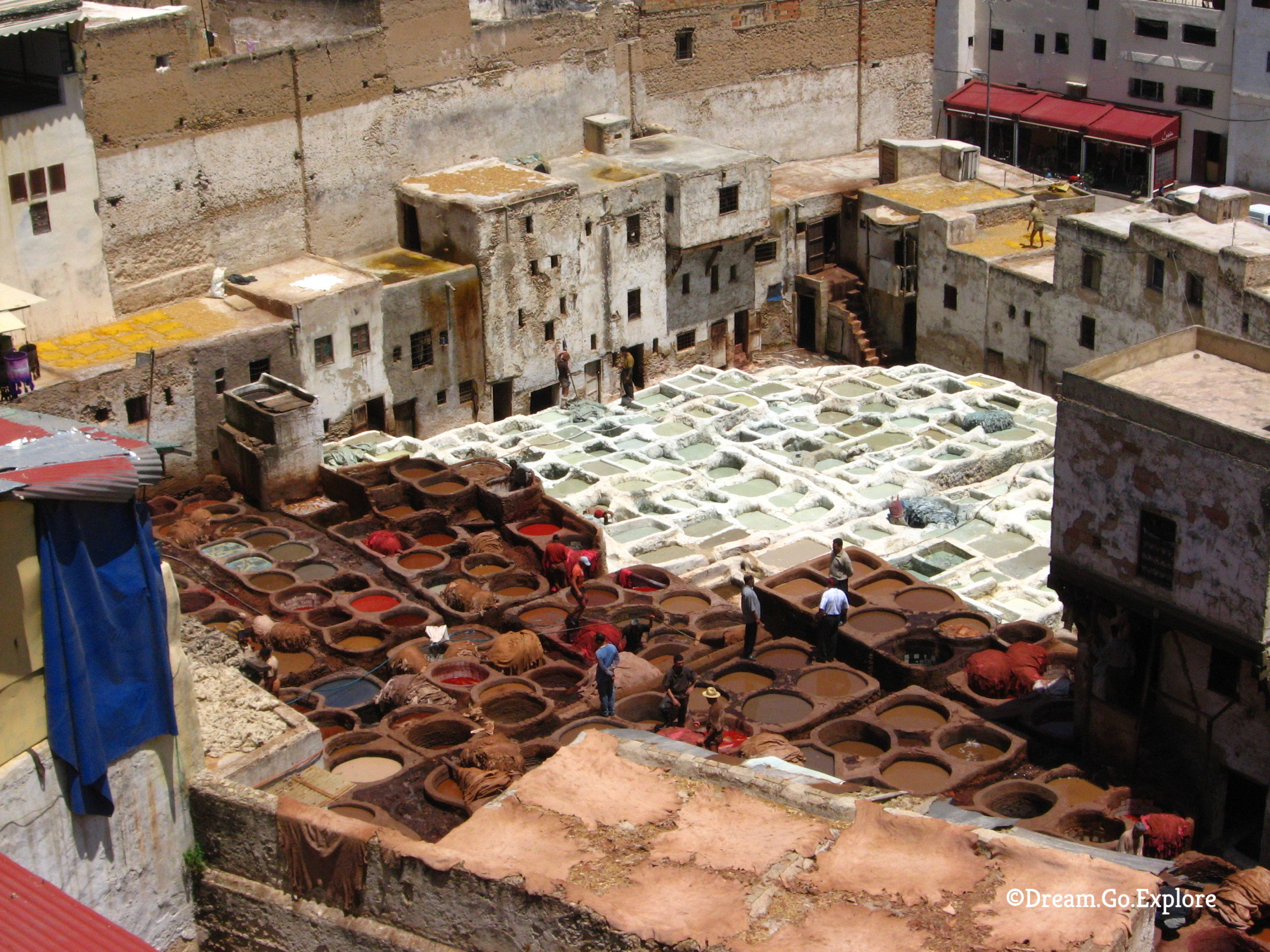 In the tanner quarter of Fes (Morocco)– Im Gerberviertel von Fes (Marokko)