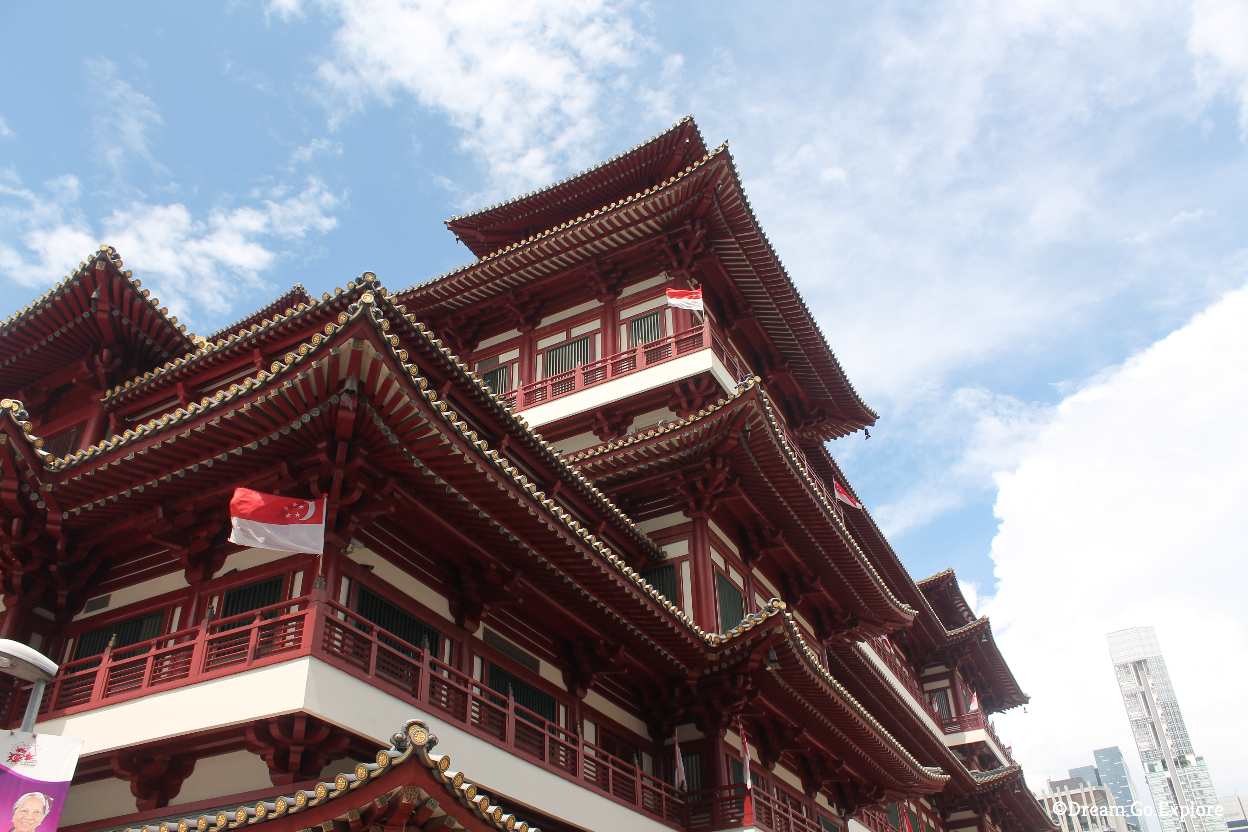 Buddha Tooth Relic Temple & Museum (Tooth Temple, Singapore)-Buddha Tooth Relic Temple & Museum (Zahntempel, Singapur)