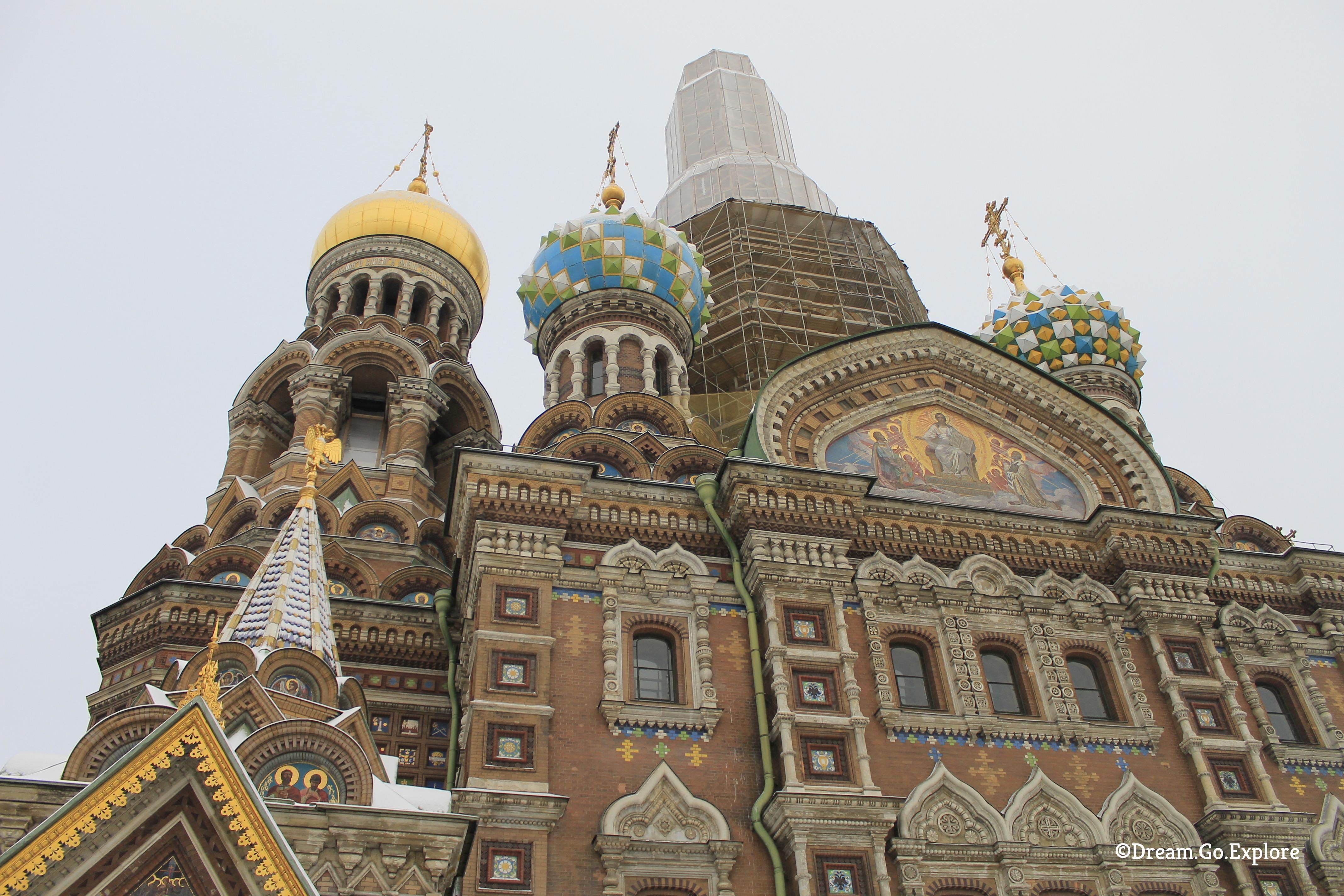 A visit to the Church of the Resurrection of Jesus Christ in Sankt Petersburg (Russia) – Ein Besuch der Erlöserkirche in Sankt Peterburg (Russland)