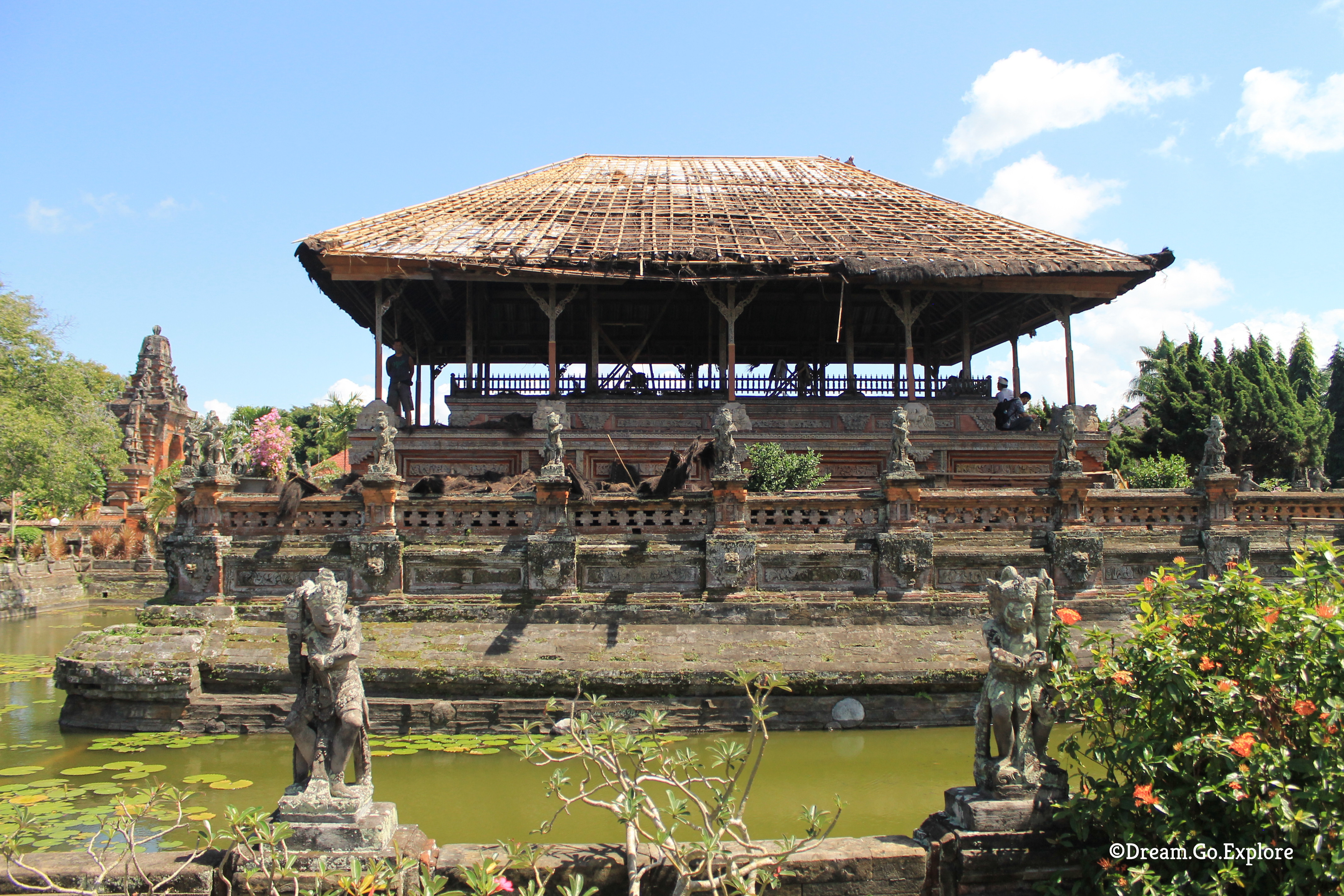 The Palace of Klungkung (Bali, Indonesia) — Der Palast von Klungkung (Bali, Indonesien)