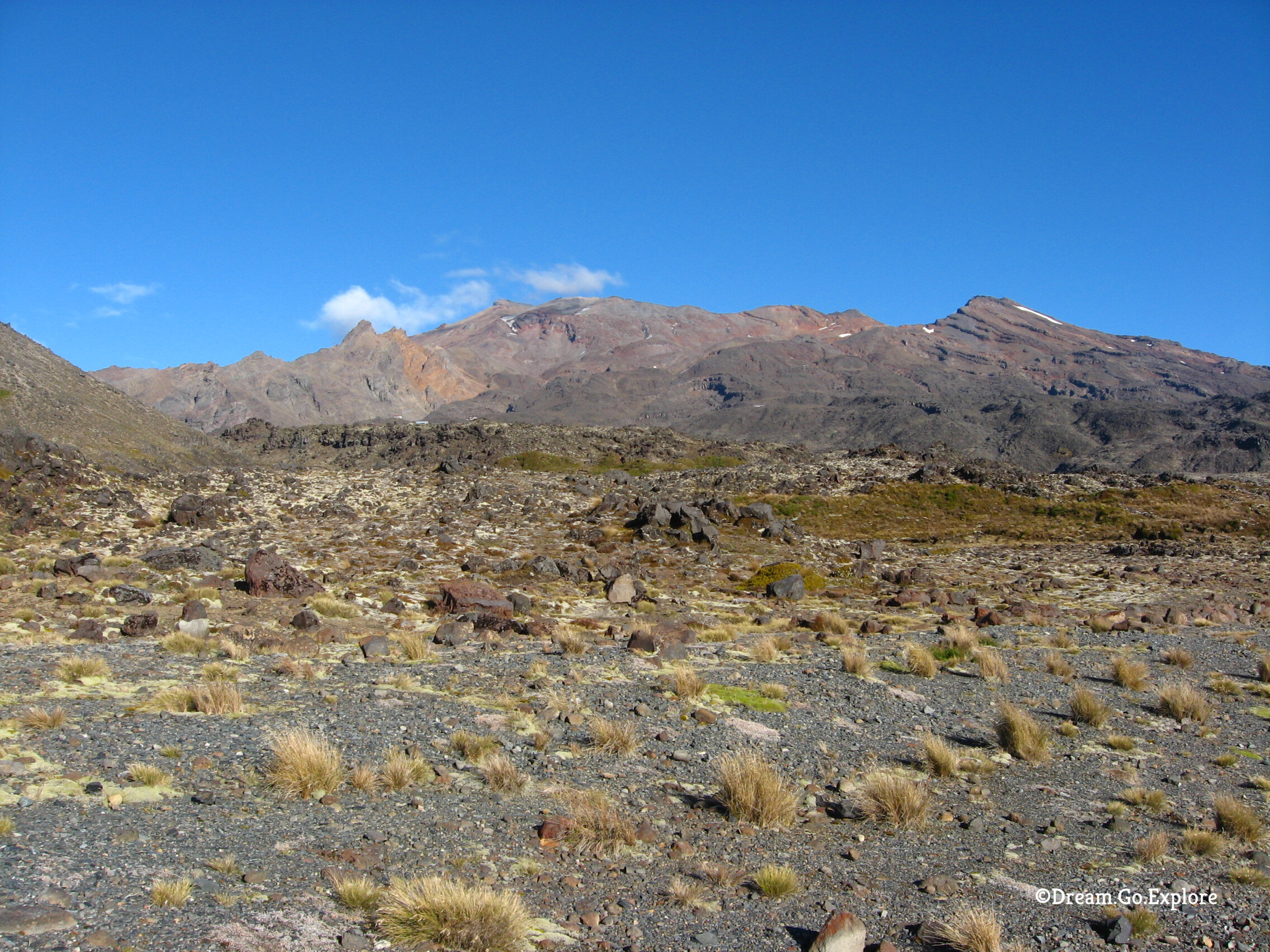 Hike to Dome Shelter (2672 meters) at Mount Ruapehu (New Zealand) – Wanderung zum Dome Shelter (2672 Meter) am Mount Ruapehu (Neuseeland)