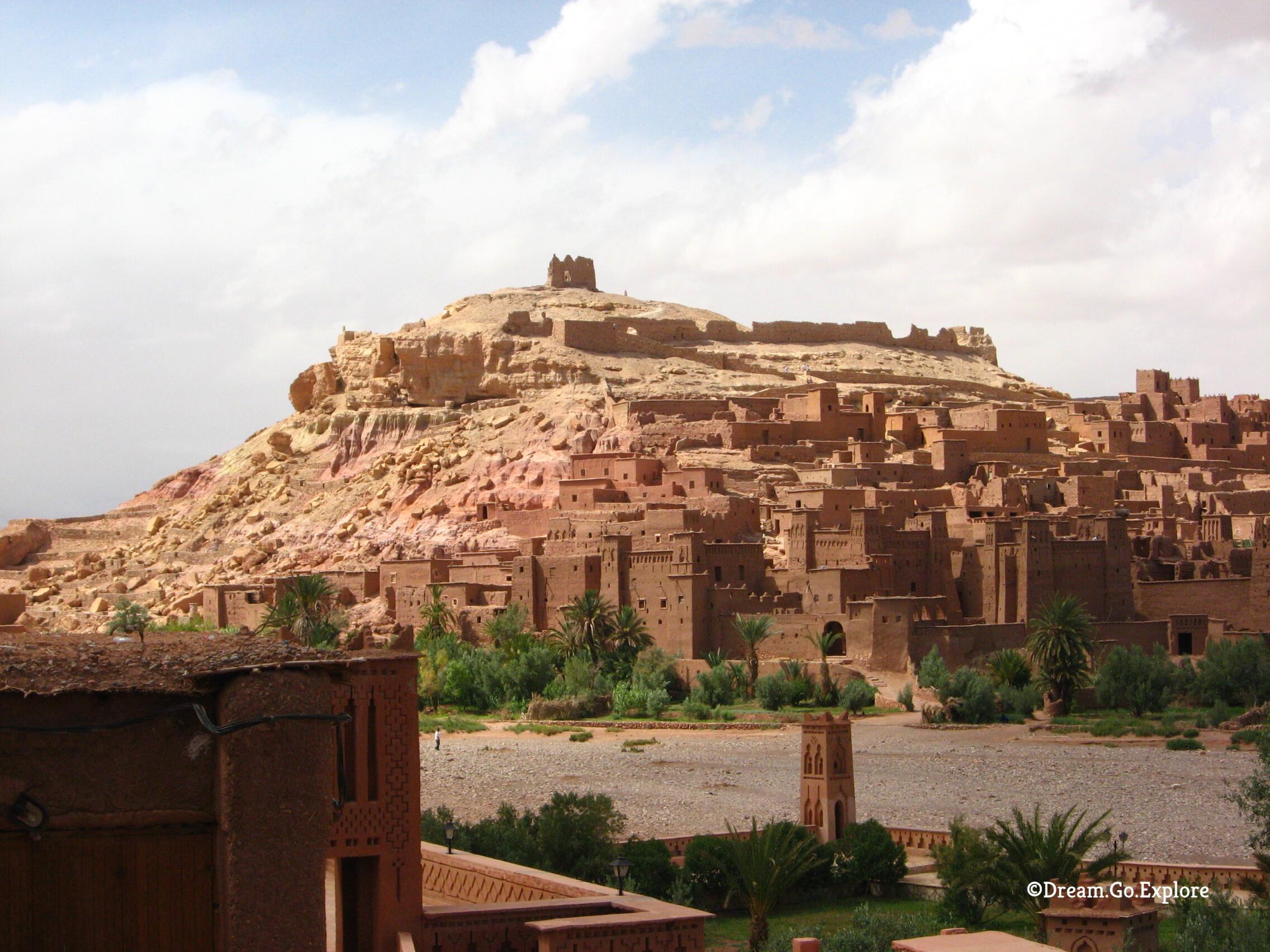 The Kasbah Aït-Ben-Haddou (Morocco) – Die Kasbah Aït-Ben-Haddou (Marokko)